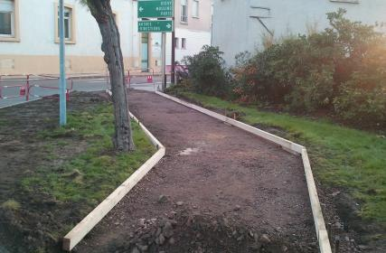Square avant travaux