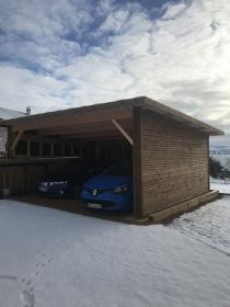 Carport Art en bois
